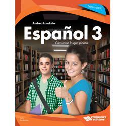 Español 3. Comunico lo que pienso